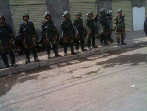 军警在西藏