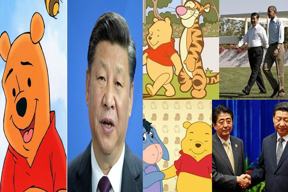 རྒྱ་ནག་ནང་ Winnie the Pooh ཡི་གློག་བརྙན་བཀག་སྡོམ།