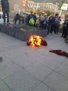 Tibetan Monk Self-Immolates in Kyegudo