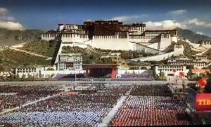 The-ceremony-of-50th-Anniversary-in-front-of-Potala-Palace